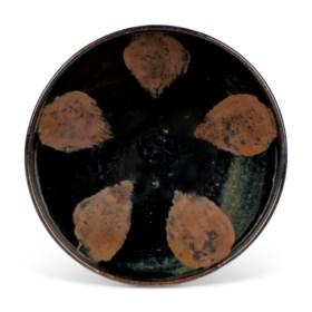 A HENAN RUSSET-SPLASHED BLACK-GLAZED BOWL