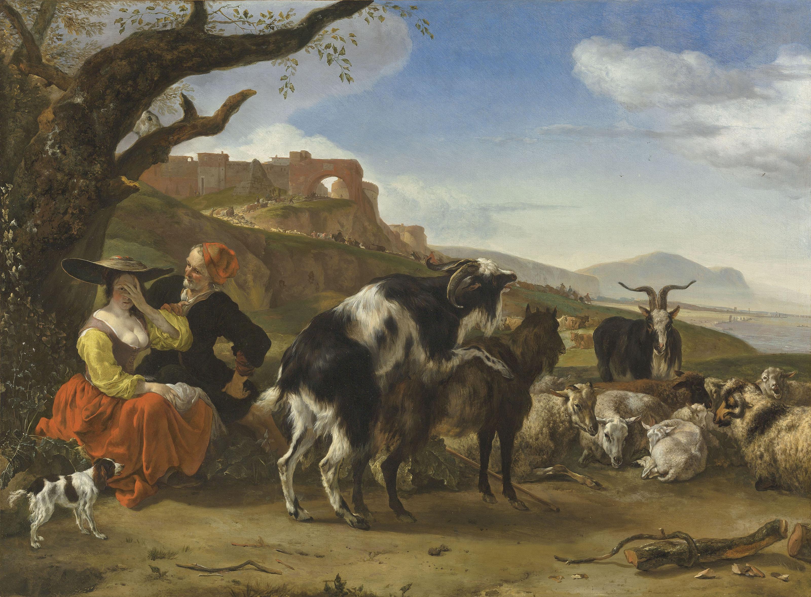 Jan Baptist Weenix (Amsterdam 1621-1659/1661 Huis ter Mey, near Utrecht)