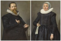 Portrait of a gentleman, aged 37; and Portrait of a lady, aged 36