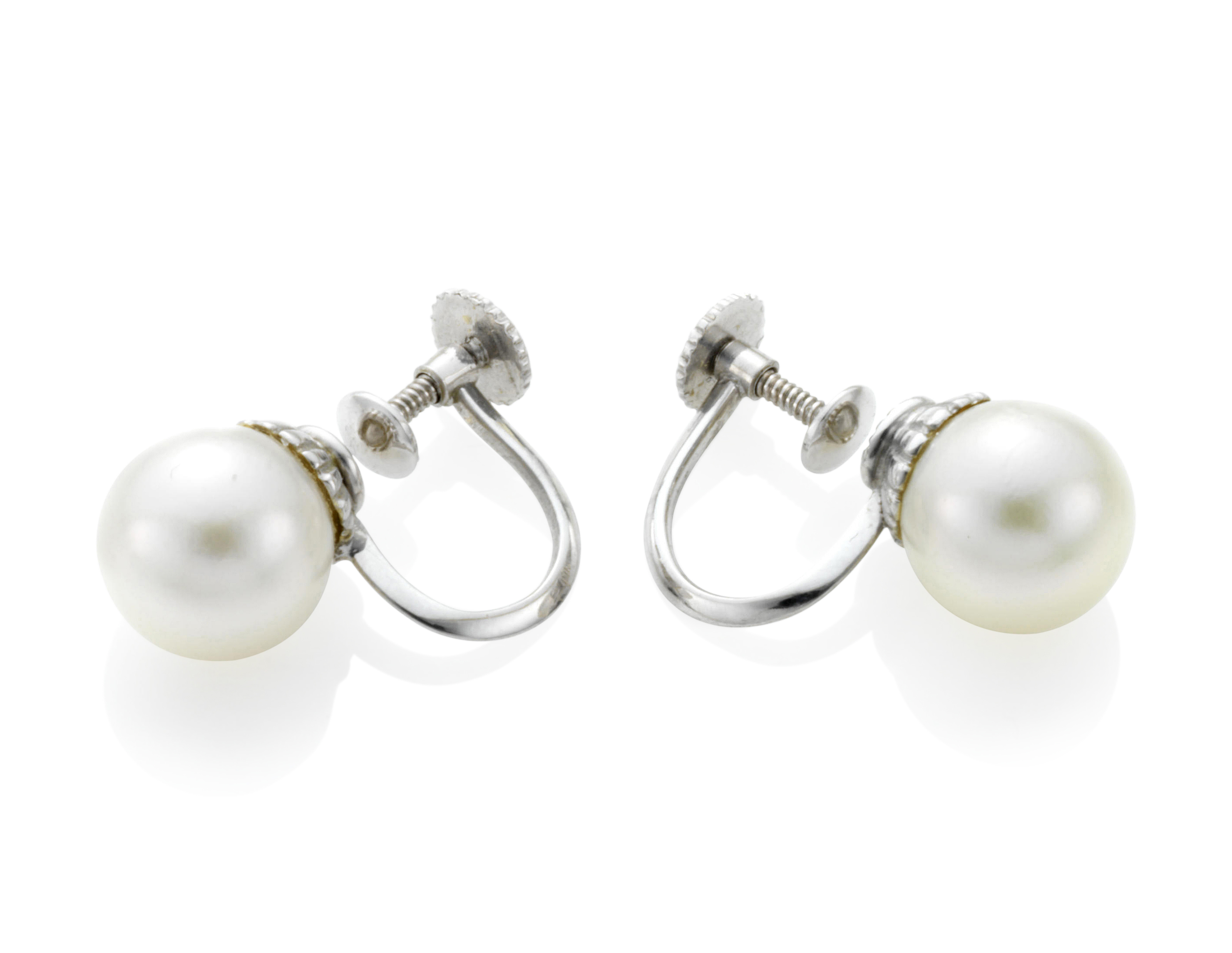 golden pearl cultured stud studs store southsea