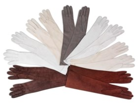 SEVEN PAIRS OF EVENING GLOVES
