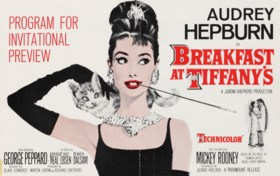 BREAKFAST AT TIFFANY'S, 1961;   A collection of material rel