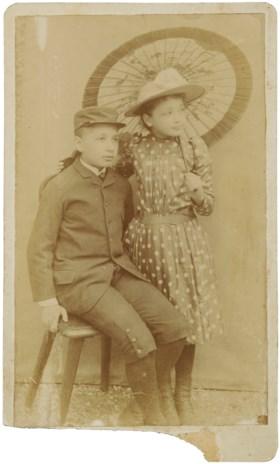 Albert and Maja Einstein