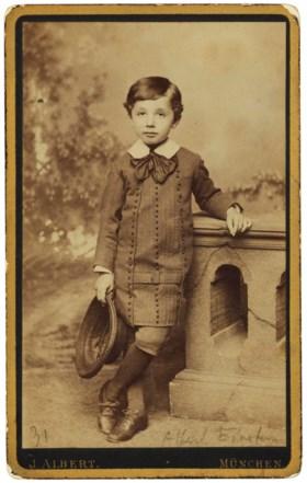 The 5-year-old Einstein