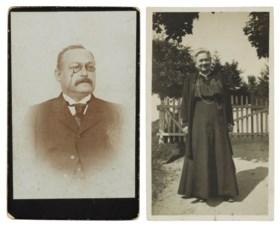 Hermann and Pauline Einstein