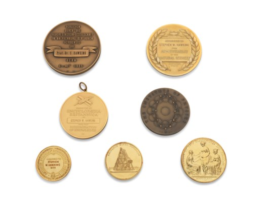 Hawking's medals and awards