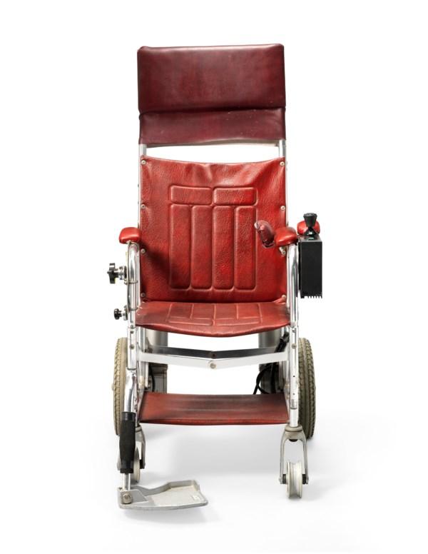A motorised wheelchair