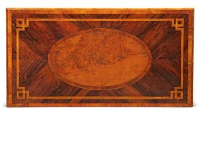 A GEORGE III INDIAN ROSEWOOD,