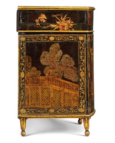 A GEORGE III CHINESE LACQUER A