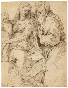 After Baldassare Peruzzi (Ancaiano 1481-1536 Rome), 16th or