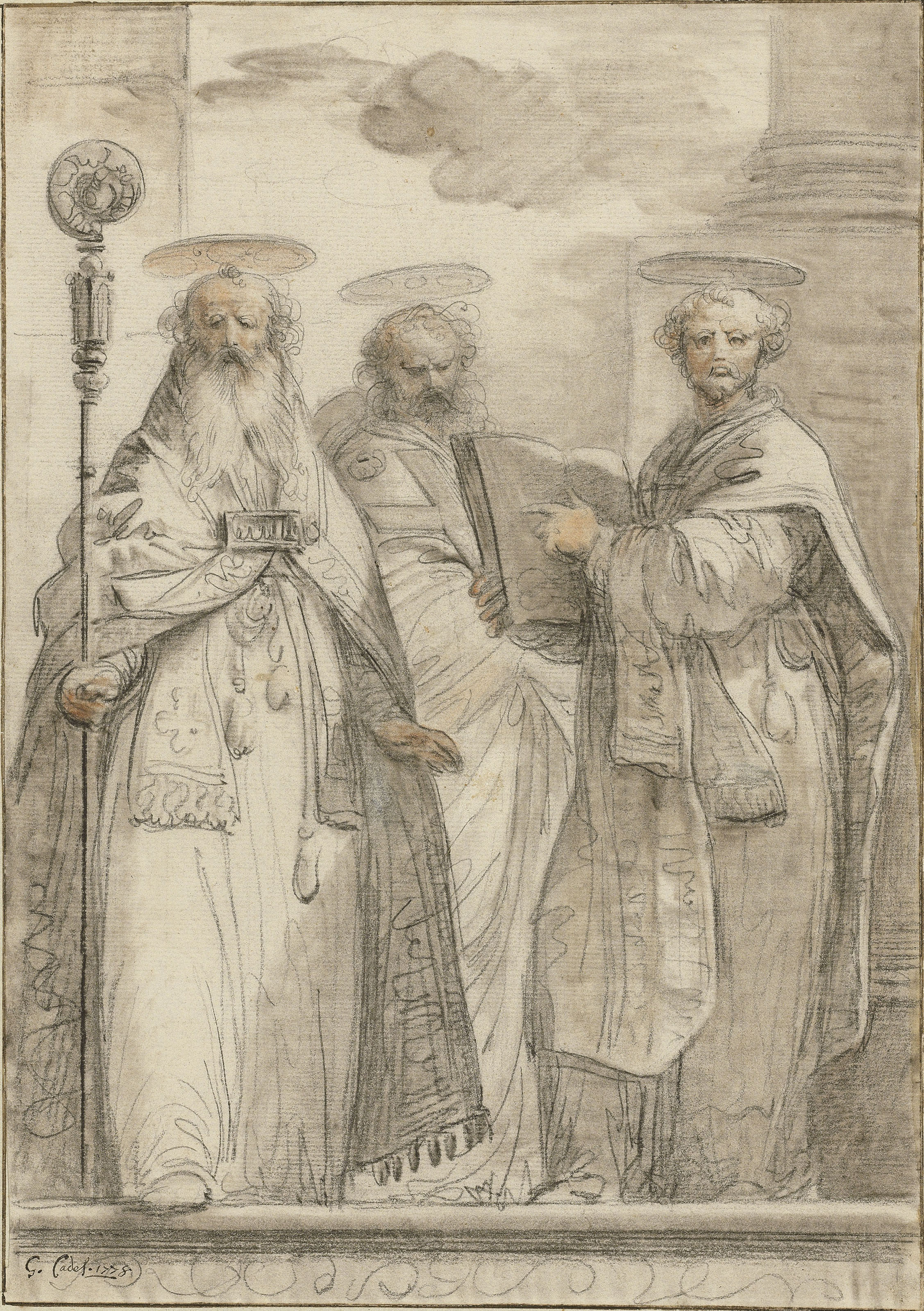 Three bishop Saints