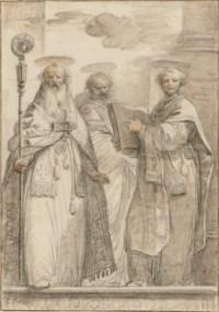 Three bishop Saints
