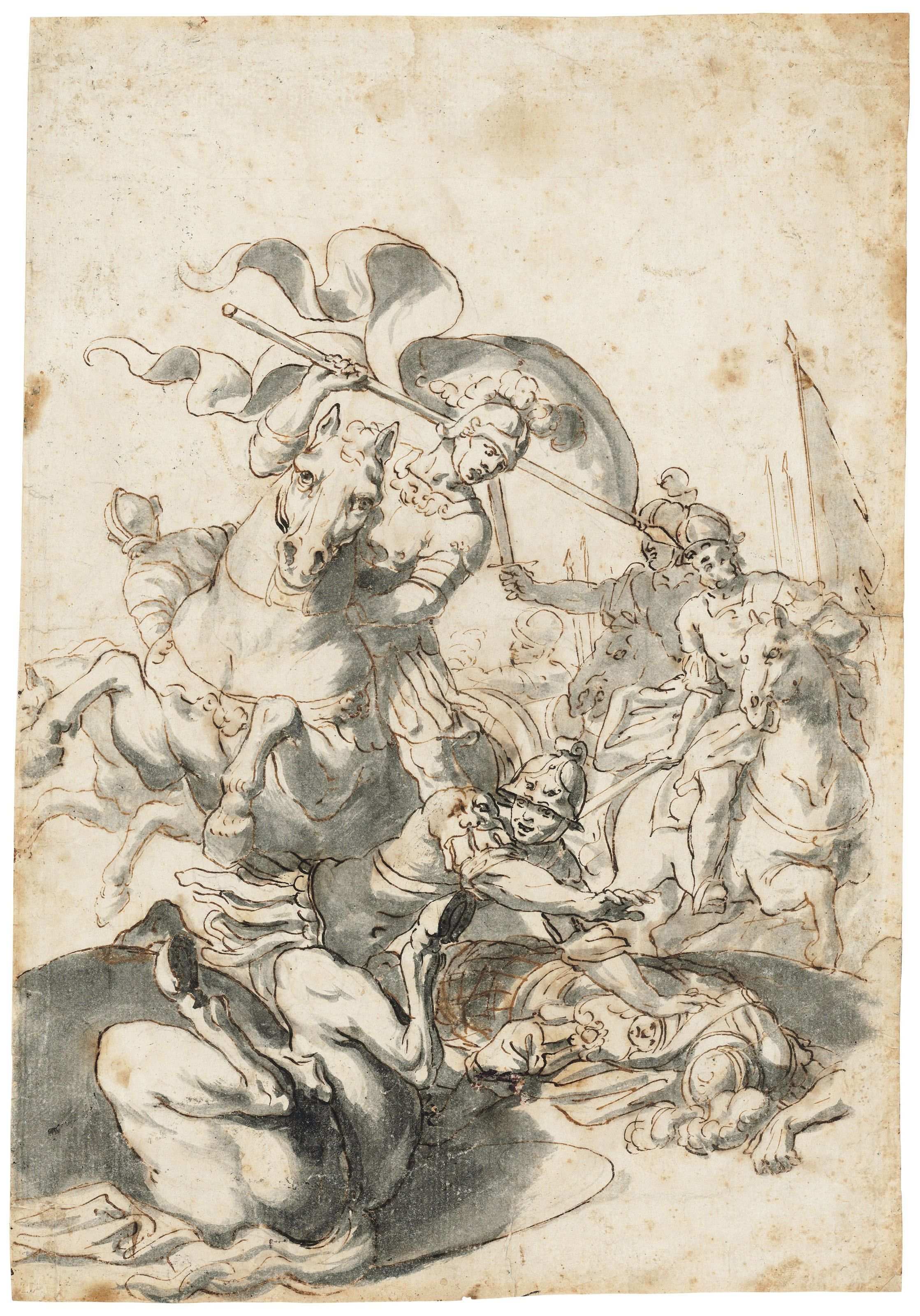 A cavalry encounter