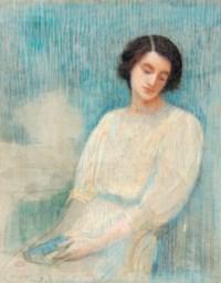 Portrait de femme revant