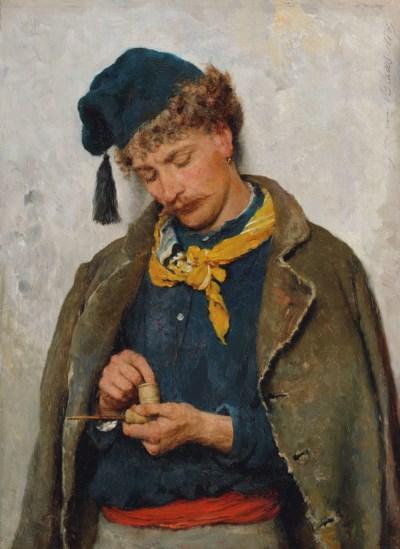 Eugen von Blaas (Austrian, 184