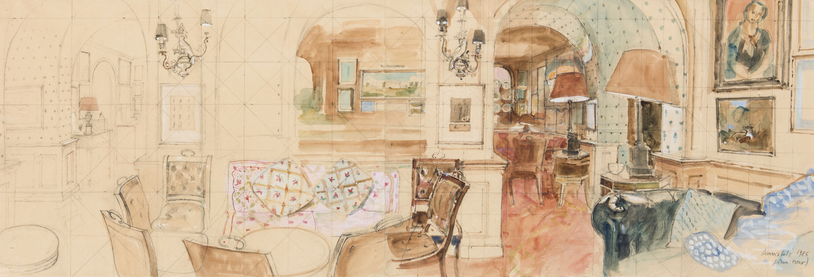 Annabel's, Study for The Founder Members