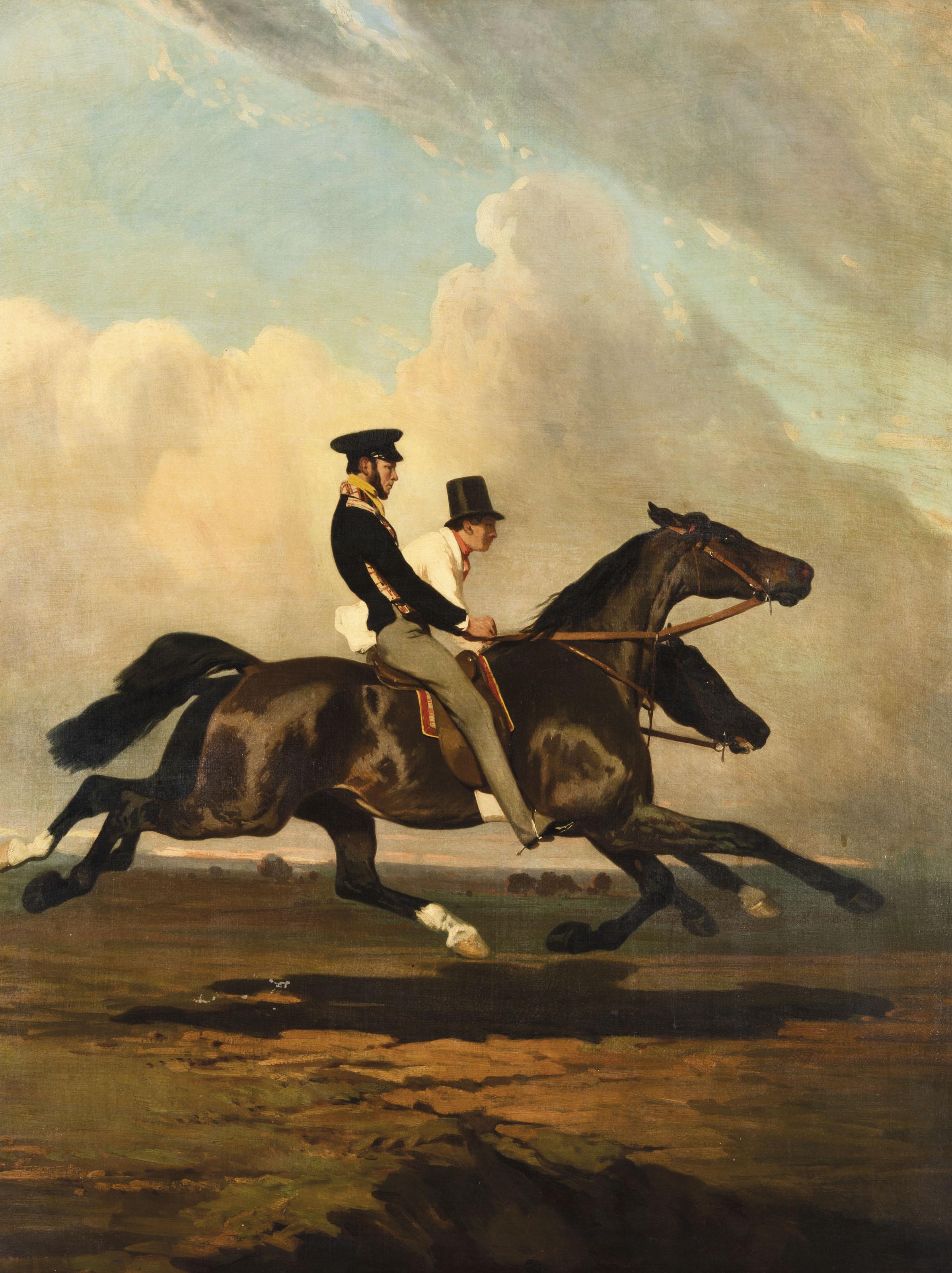 Alfred de Dreux (French, 1808-
