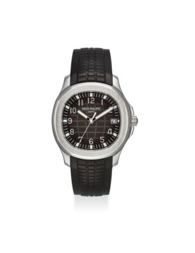 PATEK PHILIPPE AN EXTREMELY FINE STAINLESS STEEL AUTOMATIC WRISTWATCH WITH SWEEP