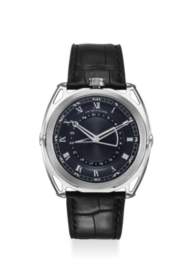 DE BETHUNE AN EXTREMELY FINE TITANIUM AUTOMATIC WRISTWATCH WITH 6 DAYS POWER RES