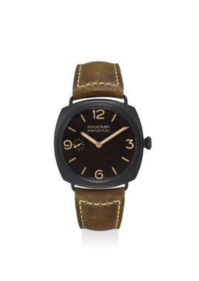 PANERAI AN EXTREMELY FINE CERAMIC COMPOSITE WRISTWATCH WITH SECOND, 3 DAYS POWER