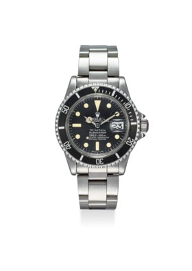 ROLEX A FINE STAINLESS STEEL AUTOMATIC WRISTWATCH WITH CENTR