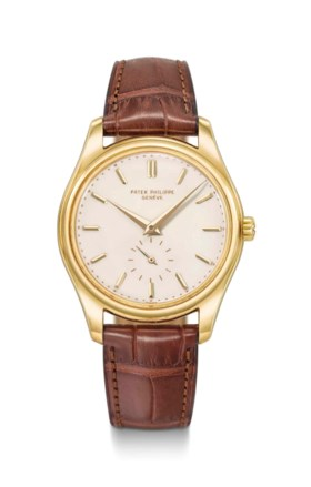 Patek Philippe A very fine, rare and attractive 18K gold aut