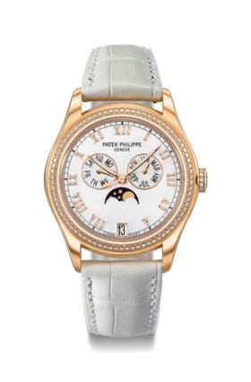Patek Philippe A lady's fine and elegant 18K pink gold and d