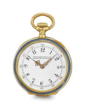 Patek Philippe A lady's very fine and elegant 18K gold, enam