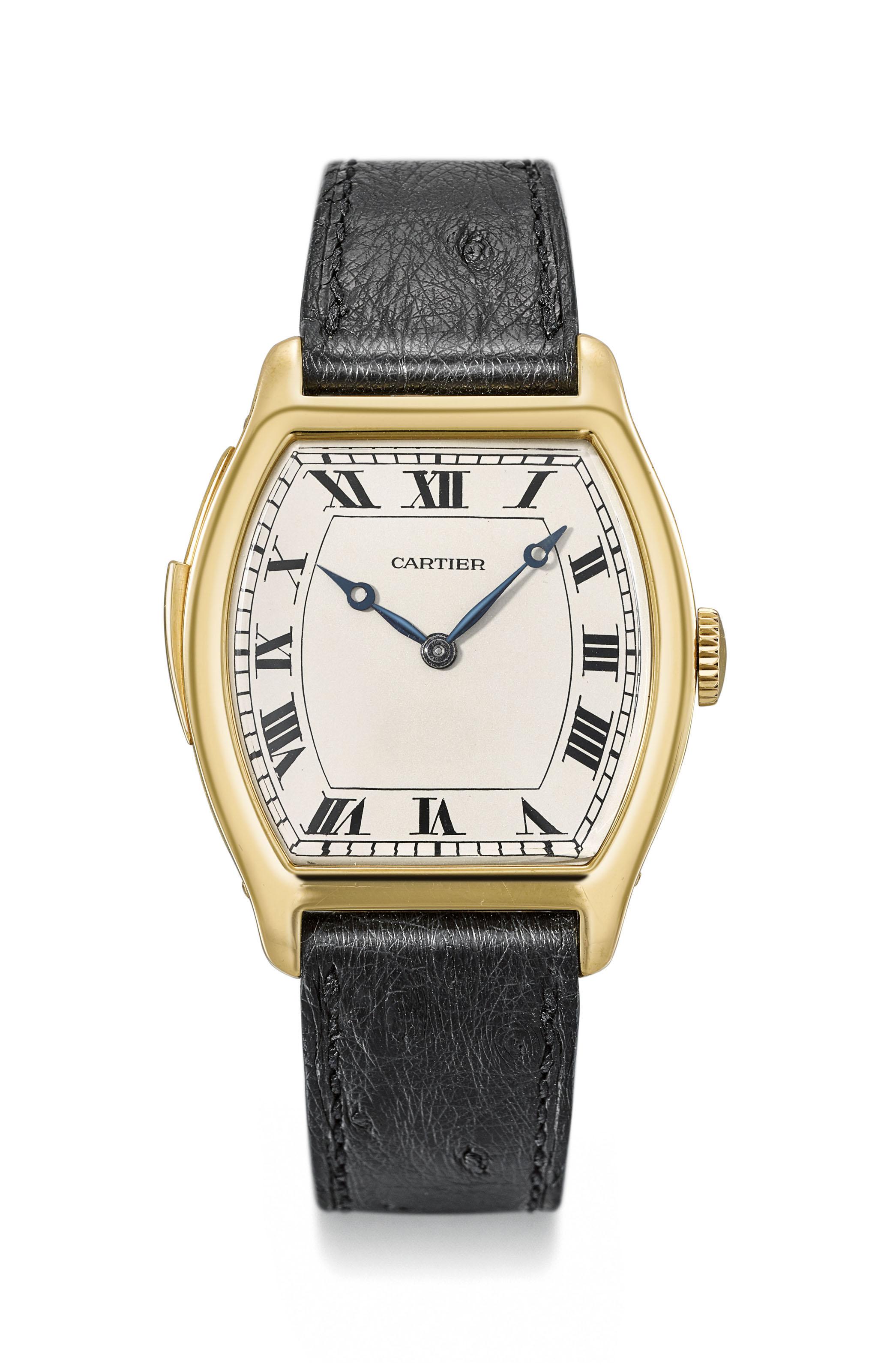Cartier. An exceptionally rare