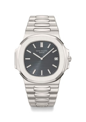 Patek Philippe A Fine Stainless Steel Automatic Wristwatch w