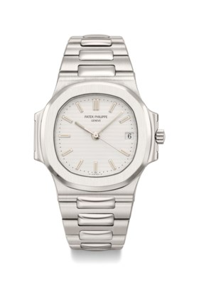 Patek Philippe A fine and very rare stainless steel automati