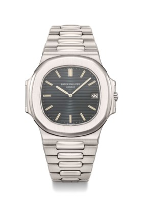 Patek Philippe A fine and extremely rare stainless steel aut