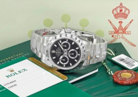 Rolex A fine and very rare stainless steel automatic chronog
