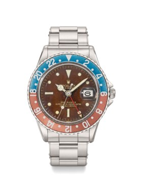 Rolex A very rare and attractive stainless steel automatic d