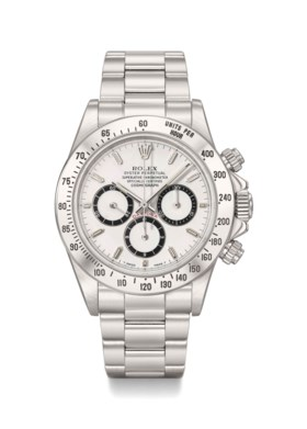Rolex A fine stainless steel automatic chronograph wristwatc