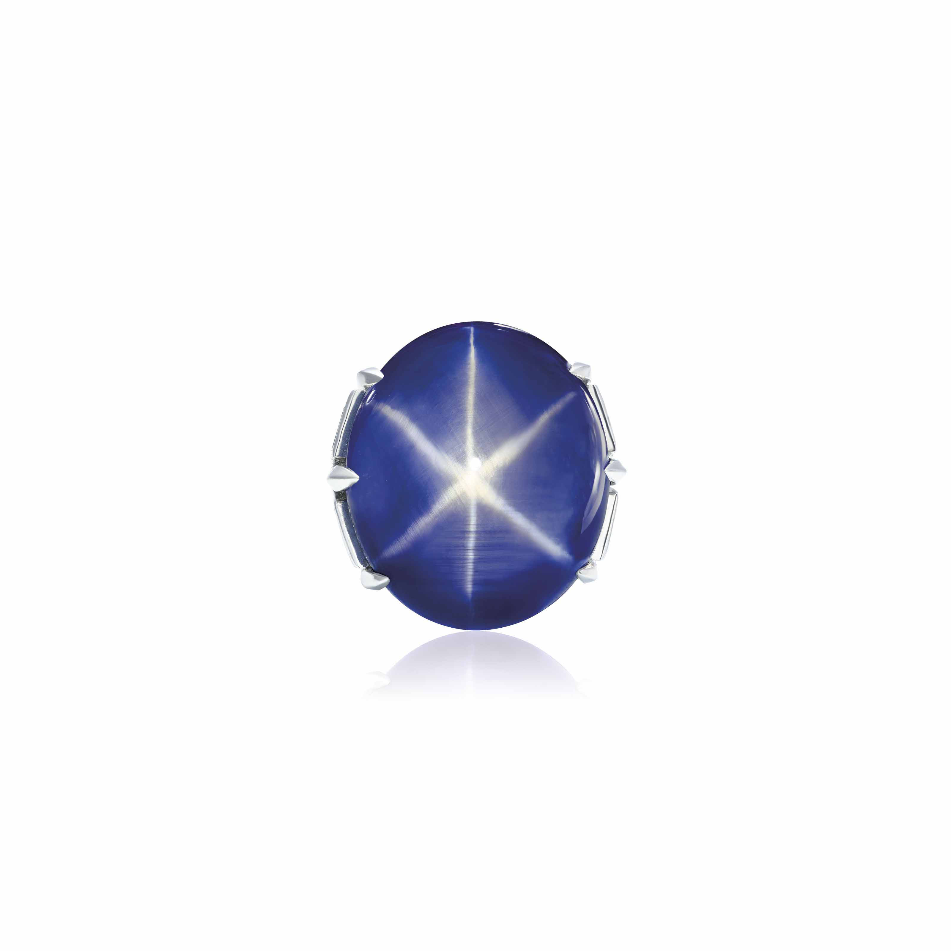 IMPORTANT STAR SAPPHIRE RING, MEISTER