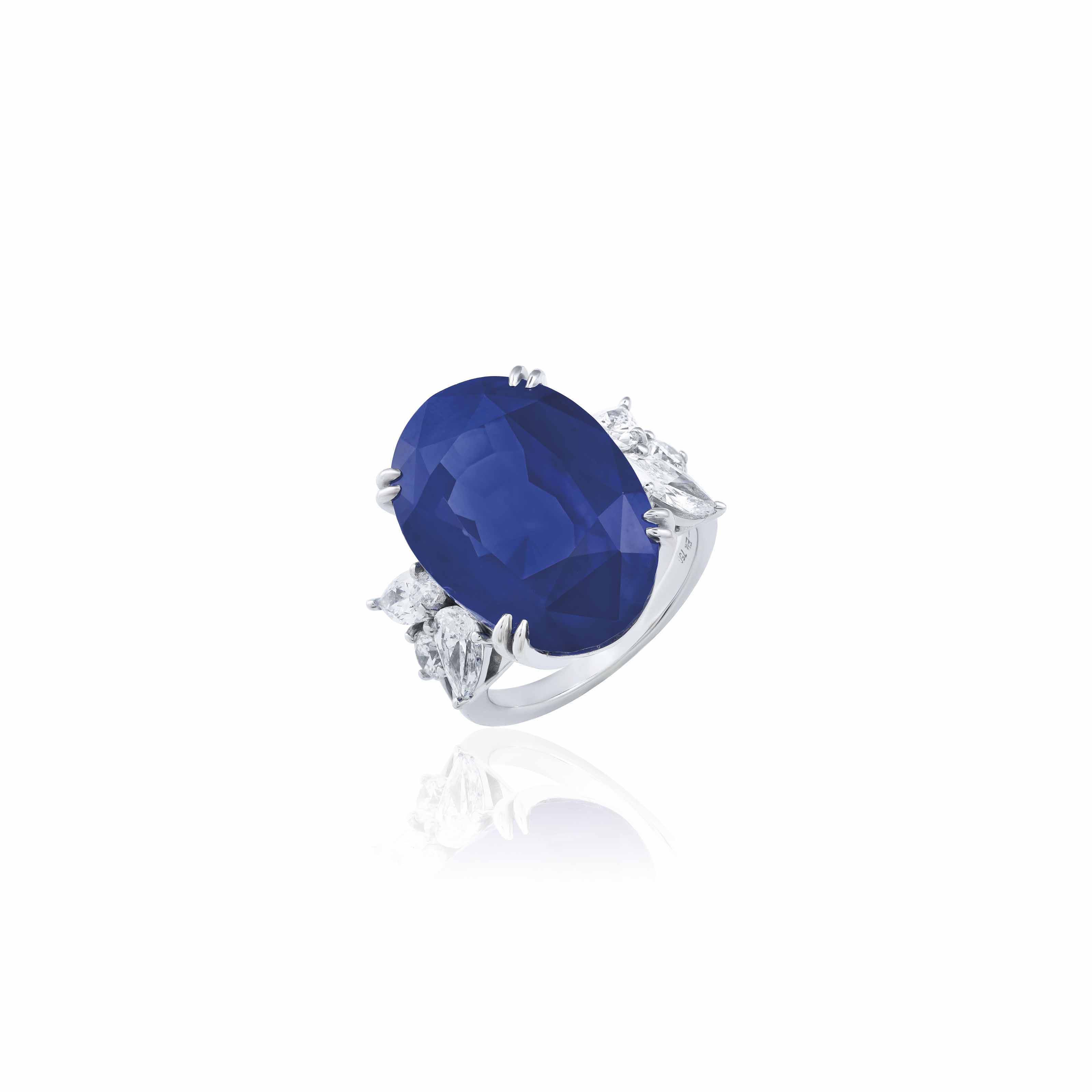 SAPPHIRE AND DIAMOND RING, MEISTER