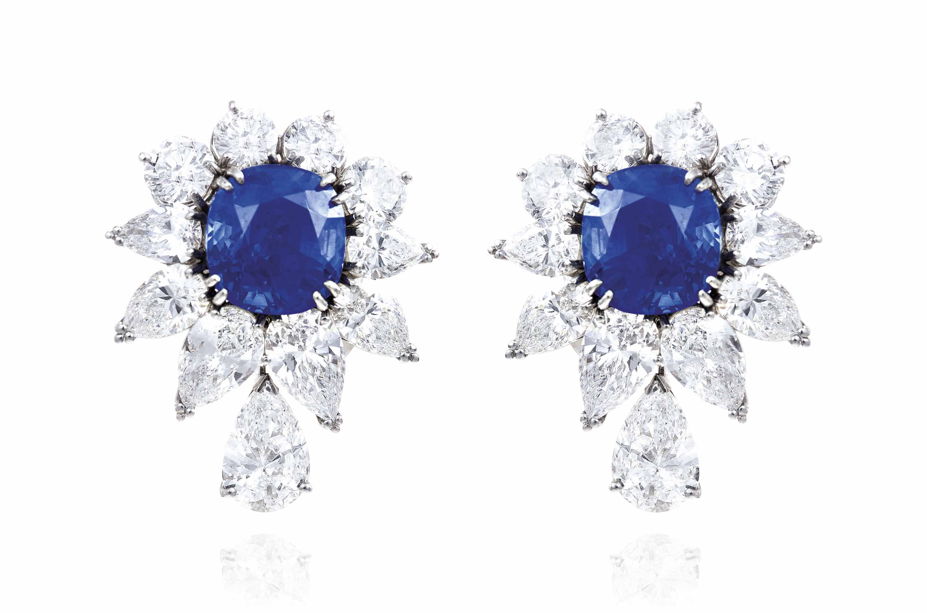 engagement sapphire earrings antique dsf jewelry gold cartier