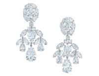 DIAMOND EARRINGS, DAVID WEBB