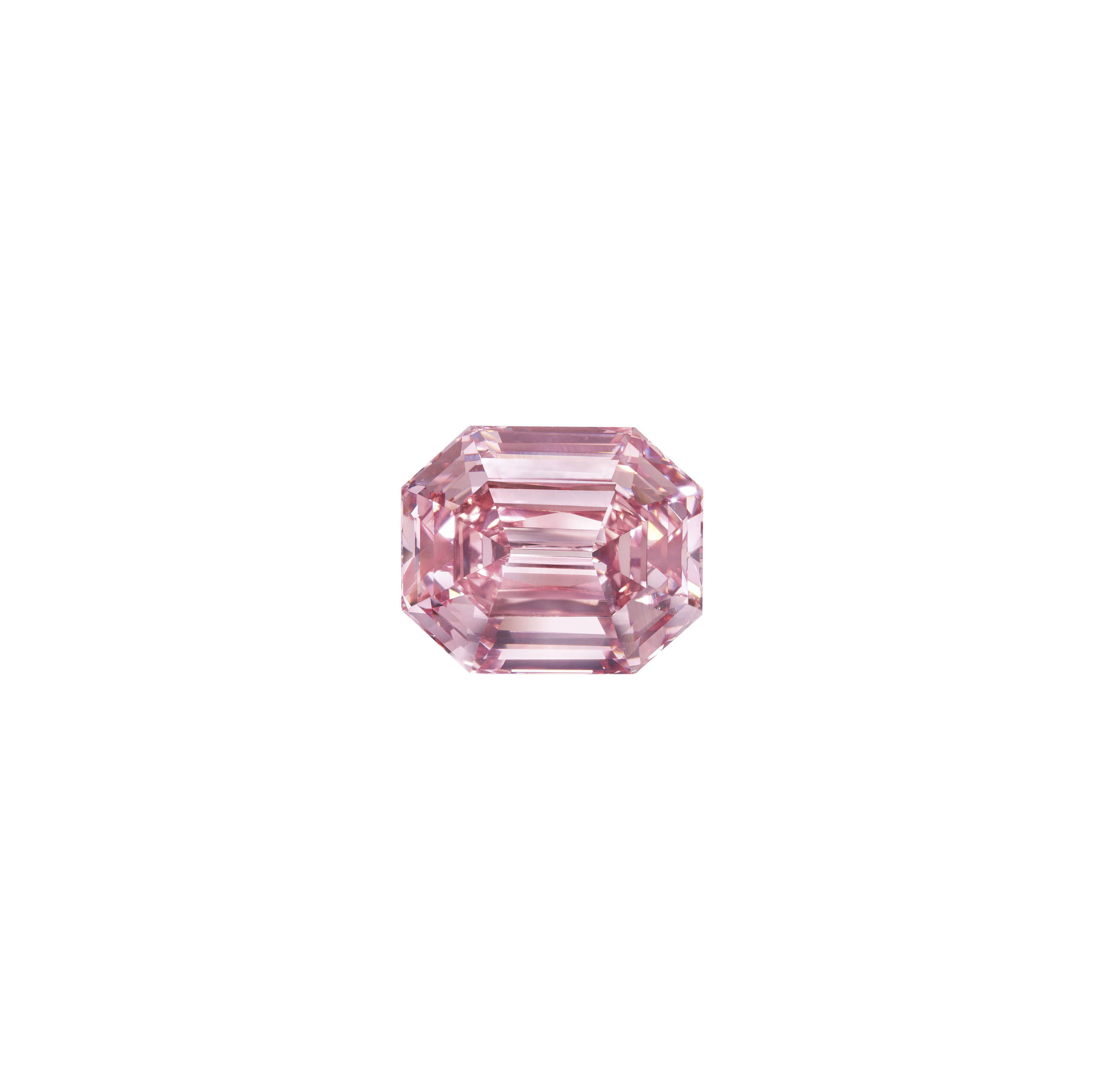 THE PINK LEGACY A SENSATIONAL COLOURED DIAMOND RING