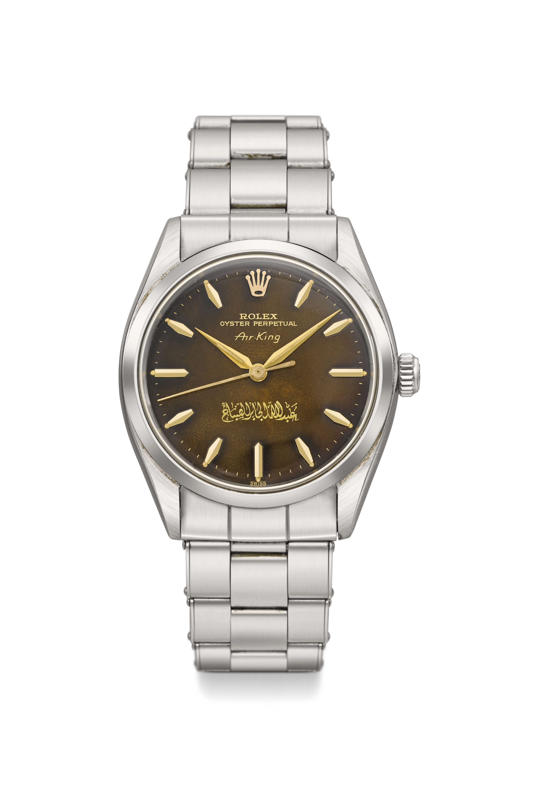 Rolex  A very fine and extremely rare stainless steel automatic