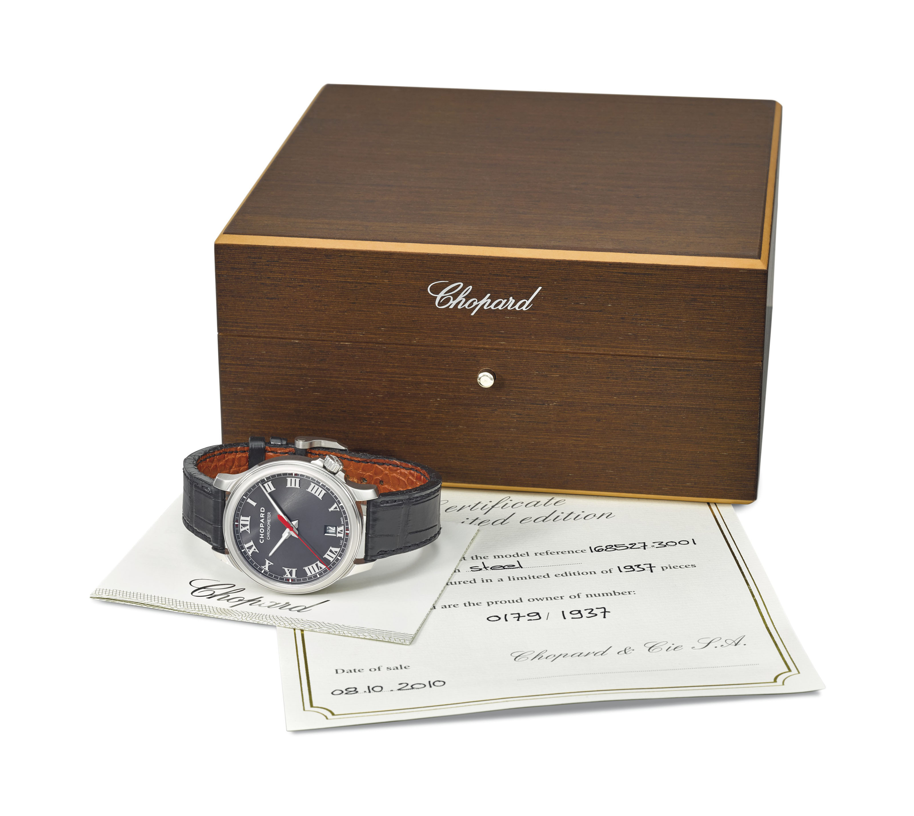CHOPARD A FINE STAINLESS STEE