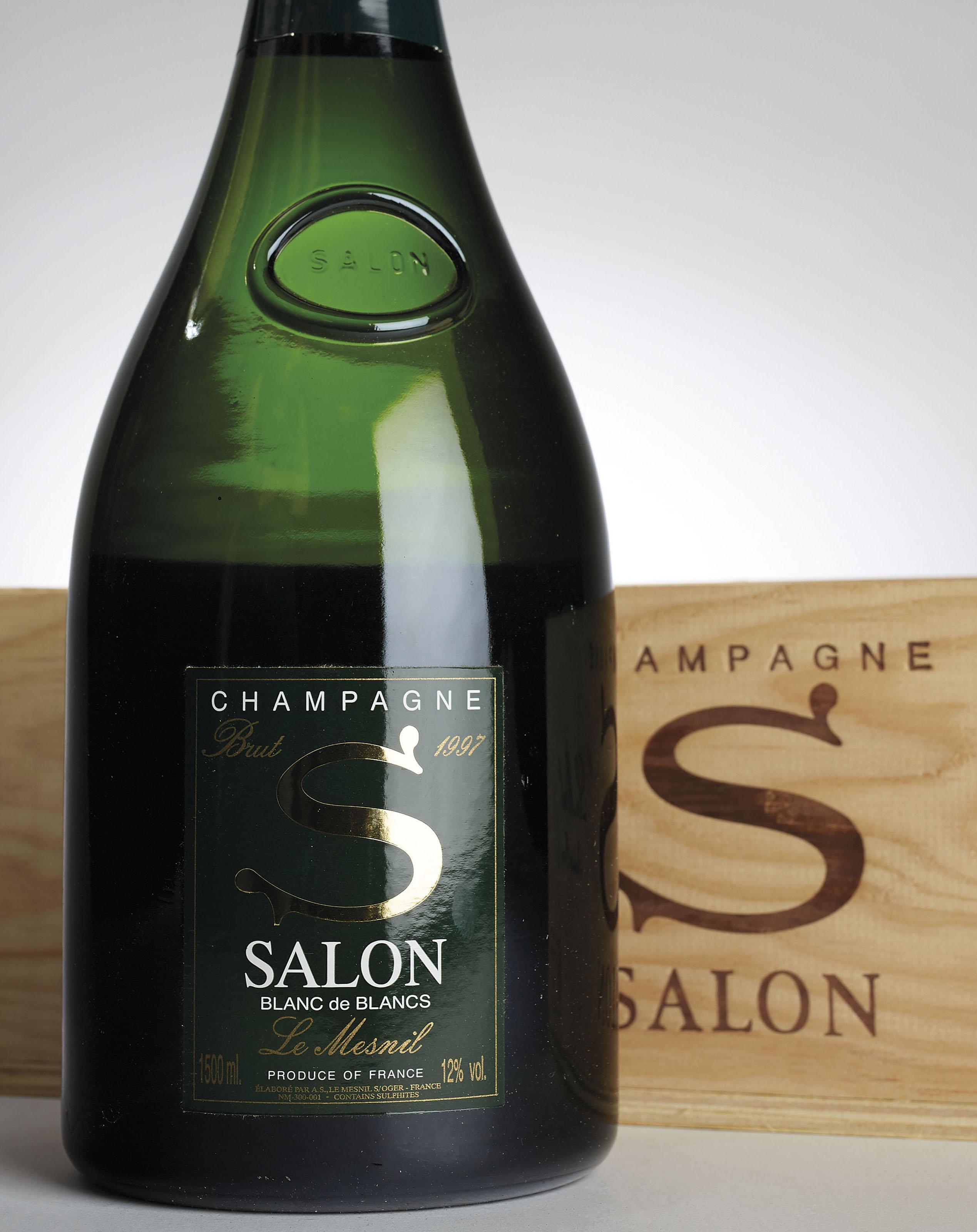 Salon Le Mesnil Blanc de Blancs 1997 | 6 bottles per lot ...