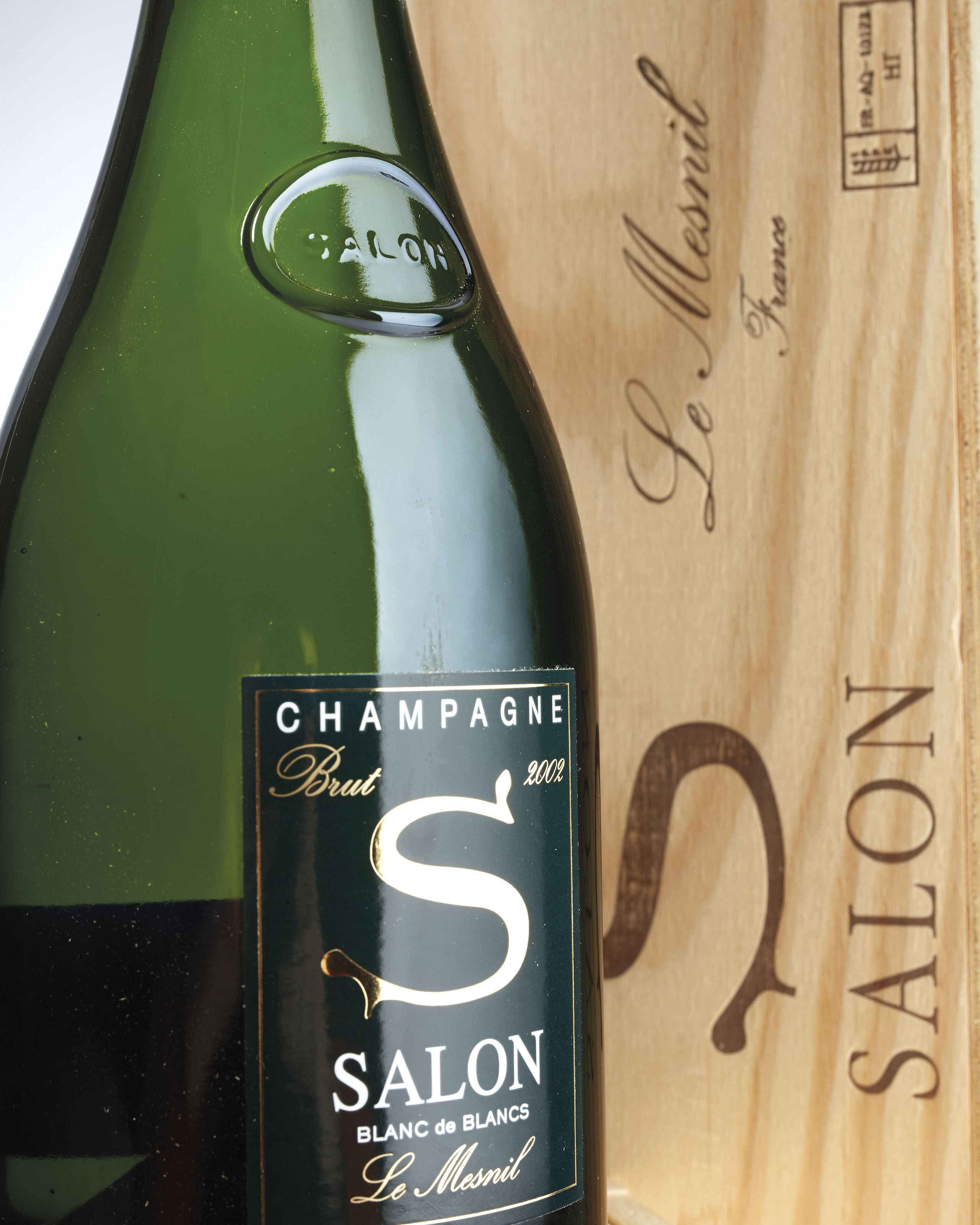 Salon Le Mesnil Blanc de Blancs 2002 | 2 bottles per lot | 2002, Le ...