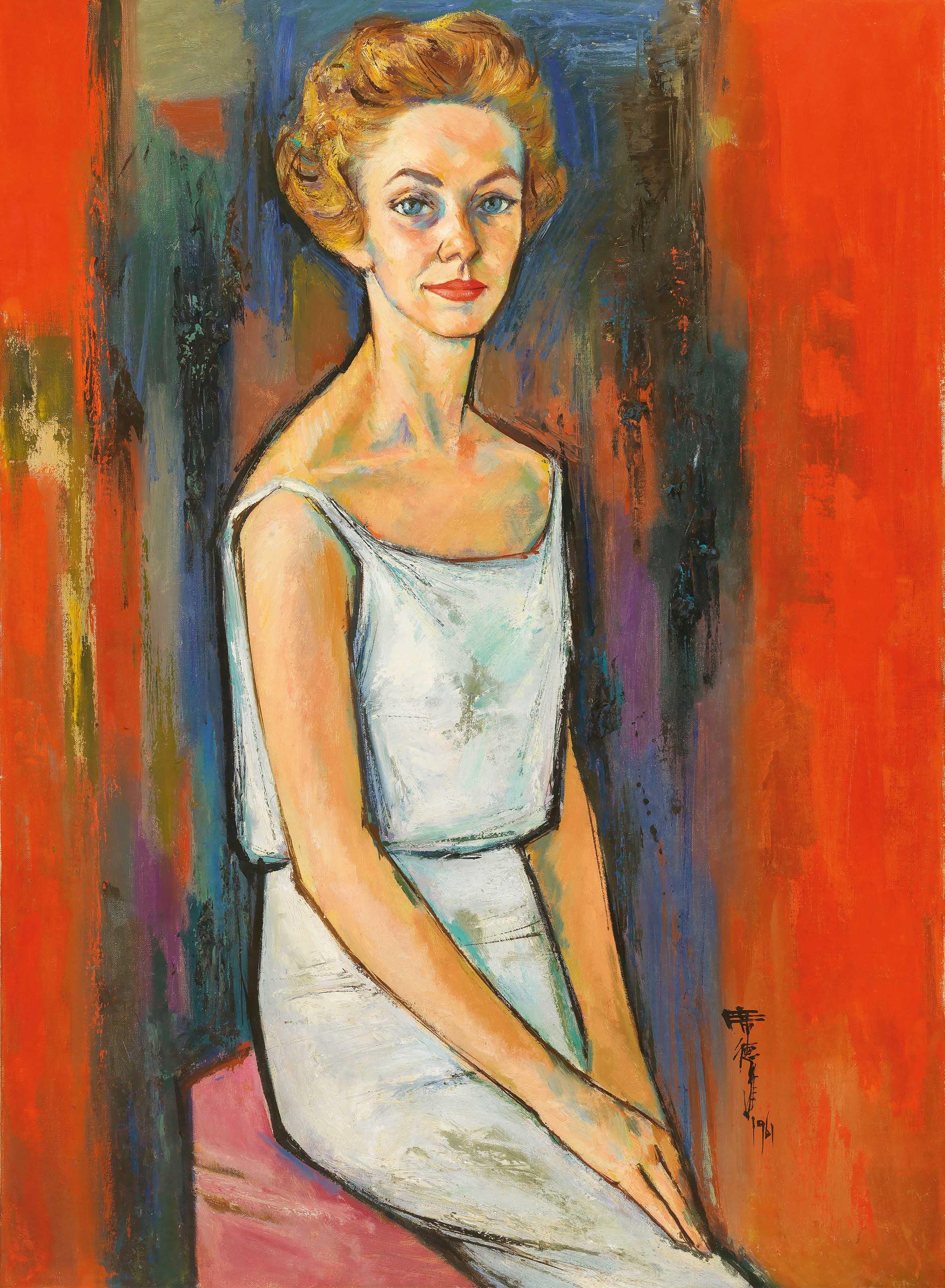 Portrait of Jeannette