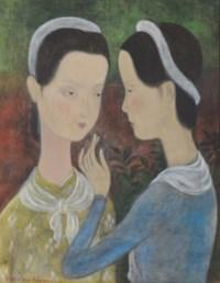 Deux jeunes femmes (The two young Women)