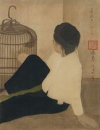 Enfant à l'oiseau (Child with Bird)