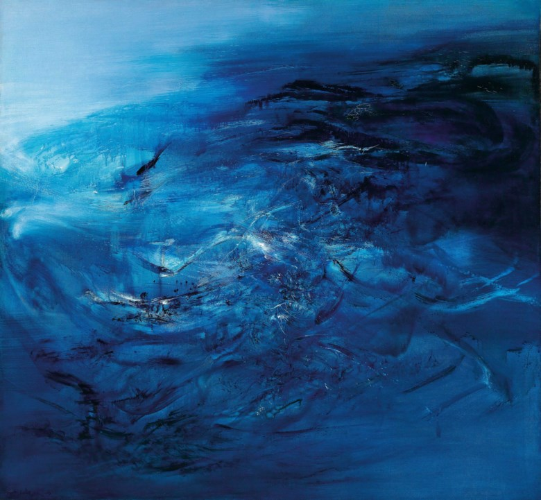Zao Wou-Ki (1920-2013), 30.09.65, 1965. 150 x 162  cm, 59 x 63¾  in. Estimate HK$65,000,000-85,000,000. This lot is offered in Asian 20th Century & Contemporary Art (Evening Sale) on 24 November 2018 at Christie's in Hong Kong