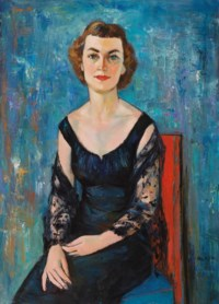 Portrait of Evelyn