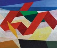 Pemandangan Dengan Lipatan-Lipatan Kertas (Landscape with Origami)